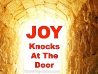 Joy Knocks at the Door